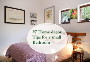 7 Home decor Tips for small Bedroom